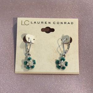 LC Silver Earrings